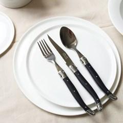 라기올 테이블 양식기 블랙 2인 세트