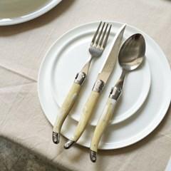 라기올 테이블 양식기 베이지(마블) 2인 세트