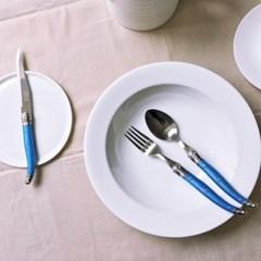 라기올 테이블 양식기 블루 2인 세트
