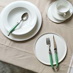 라기올 테이블 양식기 그린 2인 세트