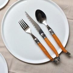 라기올 테이블 양식기 오렌지 2인 세트