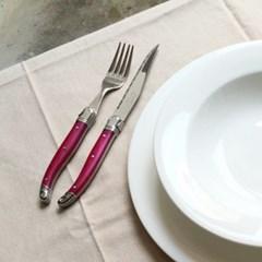 라기올 테이블 양식기 로즈 2인 세트