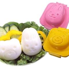 계란성형틀 토끼&곰