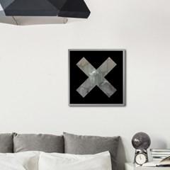 LP 메탈 액자 - vintage X