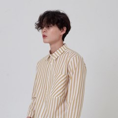 STRIPE SHIRTS_YELLOW