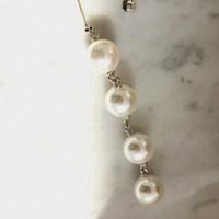 67 - pearl drop earring