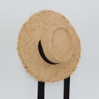 straw ribbon hat