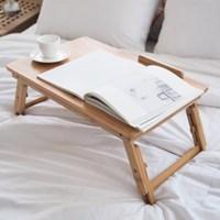 [비스비바] 스크래치 대나무 노트북 테이블_(1152039)