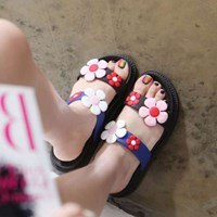 Kami et muse Color flower tall up daily slipper_KM17s304