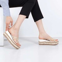 kami et muse Clear band espadrille wedge slippers_KM17s303