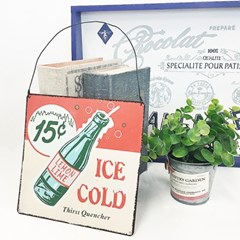 Ice cold  사인보드