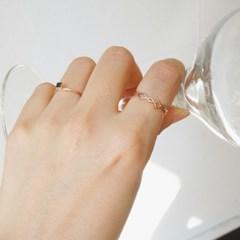 14k gold net ring