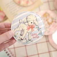 paper doll mate pocket mirror