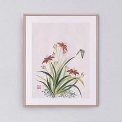 나비와 꽃들2 갤러리액자 by하얀달(351046)