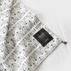[키미티즈] 메르시 블랭킷 - 숲속의여우 그레이(사계절용)