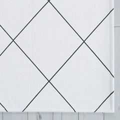 [바이빔]카로 라인 면 쇼파패드[60x230]-4인용