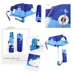 [엔비로라]휴대용 우산- 3단완전자동/장우산 - 피싱켓 e524