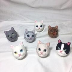 고양이 차량용 석고방향제