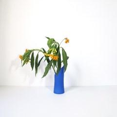 Wave Vase Blue