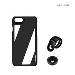 MOMAX 아이폰7 카메라렌즈케이스 휴대폰 셀카렌즈 렌즈2개포함