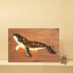 LED 고래 스트링아트 만들기 패키지 DIY