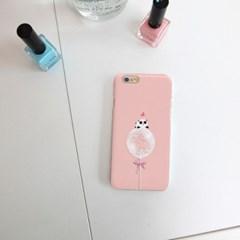 NBH-0096 풍선위 팬더 핑크 하드케이스