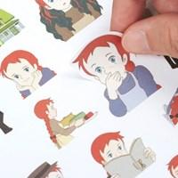 빨강머리앤 데코 스티커팩