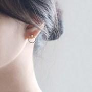 Silver ball earring (은볼 귀걸이) [92.5 silver]