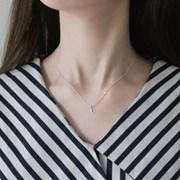 Moonstar necklace (실버 달별 목걸이) [92.5 silver]