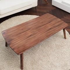 아카시아 원목 접이식 사각 테이블