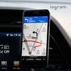 아이오그램 차량용 스마트폰 거치대 마그네틱거치대_(1238992)