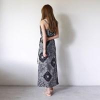 Paisley wrap skirts set