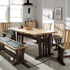 나인우드 디자인 6인 식탁 세트_(11130901)