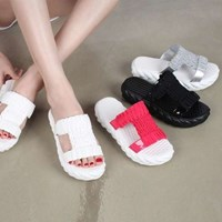 kami et muse Knit top platform slippers_KM17s325