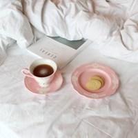 카페룸넘버1508 사슴 커피잔세트 rose pastel