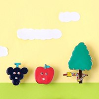 [AIUEO] Fruits Pin Badge