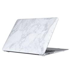 [유니크] 맥북 프로 13인치 케이스 - Marble Blanc (화이트)