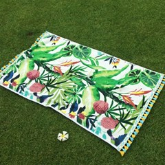 Tropical Island - Beach Towel