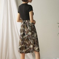 hawaiian banding wrap skirt