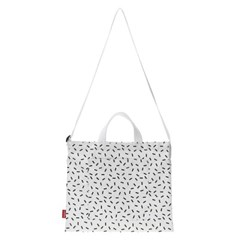 [ESSENSI STUDIO] ALLOVER PRINT TWO WAY BAG (ES1HSUAB41A)