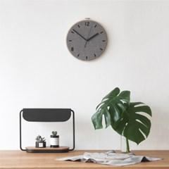 Fabric Clock_Chic Gray