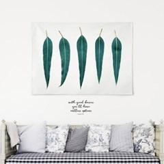 패브릭 천 포스터 F047 식물 유칼립투스 패밀리