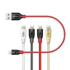앤커 Anker PowerLine+ 케블라 애플 라이트닝케이블 0.3m (A81240)