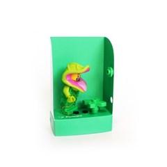 펀치 미니하우스-그린, Punchy-lego minifigure house, 펀치