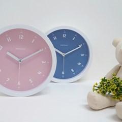 소프트컬러무소음벽시계(2COLOR)