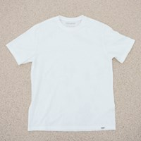 [Organic cotton] Solid White ivory (발목양말 선물 증정)