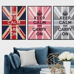 Keep Calm 킵캄 유니언잭 포스터 - A1 A2 A3 A4