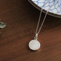 자개 팬던트 목걸이 mother pearl pendant necklace
