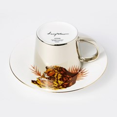[LUYCHO] 루이초 African Lion-Short (원형미러컵+컵받침SET)