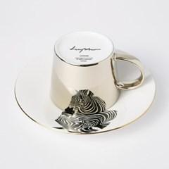 [LUYCHO] 루이초 Chapmans Zebra-Short (원형미러컵+컵받침SET)